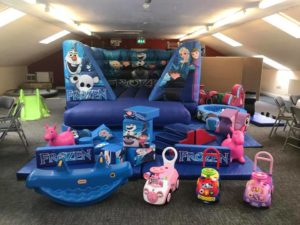 frozen themed soft play hire