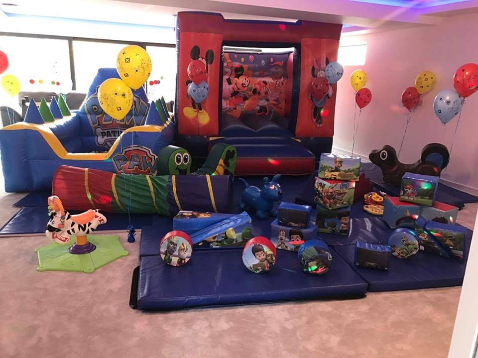 paw patrol themed soft play hire
