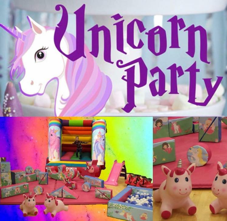 Unicorn Soft Play Hire - Pulse Entertainments