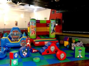 paw patrol soft play hire - pulse entertainments